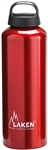 Classic Water Bottle Wide Mouth Screw Cap with Loop 34oz Red