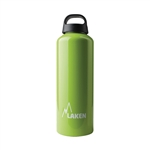 Classic Water Bottle Wide Mouth Screw Cap with Loop 34oz, Apple Green