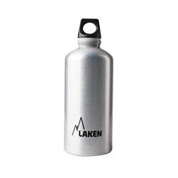 Laken Futura Water Bottle Narrow Mouth Screw Cap with Loop - 20oz, Plain