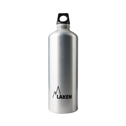 Laken Futura Water Bottle Narrow Mouth Screw Cap with Loop - 34 oz, Plain