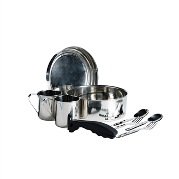 Laken Stainless Steel Mess Kit, 8""