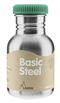Laken Basic Steel - 12 oz Stainless Steel Bottle
