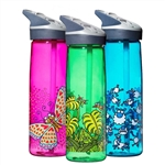Laken Kukuxumusu Tritan Sport BPA Free Wide Mouth Water Bottle w/Flip Straw Cap 25oz