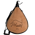 Laken Leather Canteen 68oz Straight
