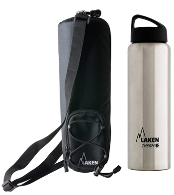 Laken Bundle - Thermo Classic Insulated Bottle, 34 Oz + An Insulated Bottle Bag
