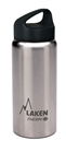 Laken Classic Thermo Vacuum Insulated Stainless Steel Water Bottle Wide Mouth with Loop Cap 17oz - Plain