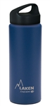 Laken Classic Thermo Vacuum Insulated Stainless Steel Water Bottle Wide Mouth with Loop Cap 25oz - Blue