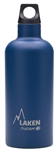 Laken Futura Thermo Vacuum Insulated Stainless Steel Water Bottle Narrow Mouth with Loop Cap 17oz Blue