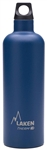 Laken Futura Thermo Vacuum Insulated Stainless Steel Water Bottle Narrow Mouth with Loop Cap 25oz Blue