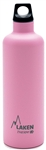 Laken Futura Thermo Vacuum Insulated Stainless Steel Water Bottle Narrow Mouth with Loop Cap 25oz Pink