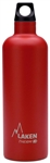 Laken Futura Thermo Vacuum Insulated Stainless Steel Water Bottle Narrow Mouth with Loop Cap 25oz Red