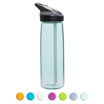 Laken Tritan Sport BPA Free Wide Mouth Water Bottle w/Flip Straw Cap 25oz