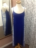 Water's Edge High Low Dress Blue