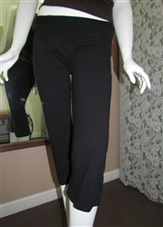 Capri Yoga Pant Black
