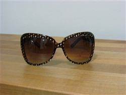 Pattern Play Oversized Fashion Sunglasses Brown