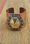 Native Cuff Rose Gold Tone