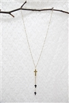 Tripple Cross Necklace