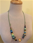 Amused Mixed Beads Necklace by Montini