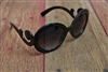 Swirl Sunglasses Black