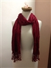 So Simple Scarf Burgundy