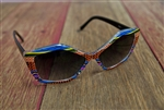 Tribal Print Sunglasses Multi Color