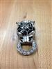 Vintage Tiger Knocker Brooch Pin