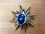 Moon and Sun Vintage Brooch