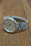 Stretch Watch Zebra Print