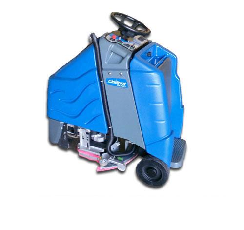 chariot floor machine