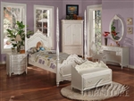 Pearl Twin Post Bed by Acme - 01000T