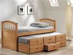 San Marino Captain Bed in Maple Finish by Acme - 08935