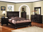 6 Piece Nautilus Bedroom Set in Espresso Finish by Acme - 1180Q