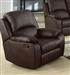 Caray Espresso Leather Recliner by Acme - 15212