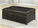 Cooper Espresso Bycast Ottoman Twin Sleeper by Acme - 15338