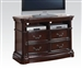 Veradisia TV Console / Media Chest in Dark Cherry Finish by Acme - 20638