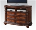 Nathaneal TV Console / Media Chest in Tobacco Finish by Acme - 22320