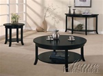 Gardena 3 Piece Occassional Table Set in Dark Espresso Finish by Acme - 8000-S