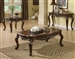 Remington Coffee Table in Brown Cherry Finish by Acme - 80064