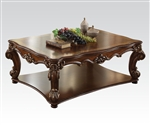 Vendome Square Coffee Table in Cherry Finish by Acme - 82002