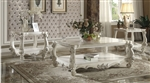 Versailles Coffee Table in Bone White Finish by Acme - 82123