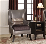 Chantelle 2 Piece Accent Chair and Table Set by Acme - 96206-2