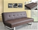 Mancord Brown Bycast Adjustable Sofa Bed by Acme - 57008