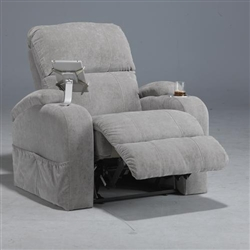 "The Chiller Reclining Chair in ""Cloud"" Color Fabric by Catnapper - 1030-4-C"