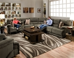 Riley 3 Piece Reclining Sectional by Catnapper - 1221-SEC