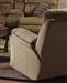 Variables Swivel Glider Recliner in Pecan Fabric by Catnapper - 1370-5
