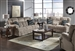 "Concord 2 Piece ""Lay Flat"" Reclining Sofa Set in ""Smoke"" Color Fabric by Catnapper - 1421-S-SM"