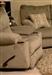 "Gavin Swivel Glider Recliner in ""Taupe"" Color Fabric by Catnapper - 1450-5-T"