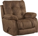 Watson Lay Flat Recliner in Coal, Almond, or Burgundy Fabric by Catnapper - 1520-7