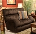 "Siesta Lay Flat Recliner in ""Chocolate"" Color Fabric by Catnapper - 1760-7"
