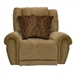 "Stafford Lay Flat Recliner in ""Caramel"" Color Fabric by Catnapper - 1770-7"
